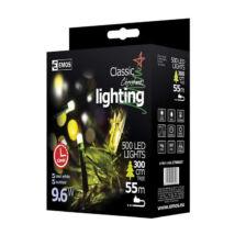 Emos karácsonyi fényfüzér időzítővel 500 LED 50m hideg fehér ZY0806T