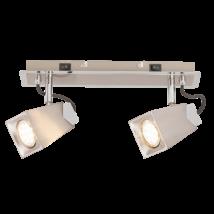 Rada LED 4,5W 400Lm 3000K 2XGU10 spot lámpatest Rábalux 6746