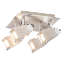 Rada LED  4,5W 400Lm 3000K 4XGU10 spot lámpatest Rábalux 6748