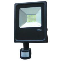 LED Fényvető reflektor 10W SMD mozgásérzékelővel 6000K Hideg fehér SLIM (OA)