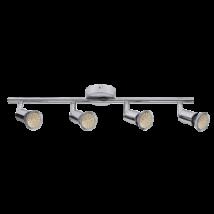 Norton LED 4-es spot lámpa GU10 3W fényes króm Rábalux 6988