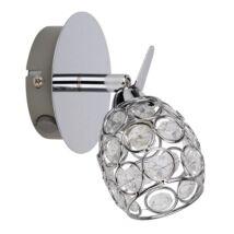 Elle 1-es spot lámpa króm Rábalux 6106