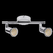 Norton LED 2-spot lámpa GU10 3W  fényes króm Rábalux 6987
