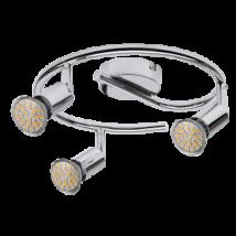 Norton LED 3-as spot lámpa GU10 3W fényes króm Rábalux6989