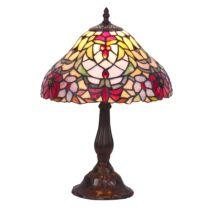 Mirella tiffany asztali lámpa Rábalux 8090