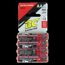 BC LR3 / 4P AAA FÉLTARTÓS ELEM EXTRA POWER AKKUMULÁTOR