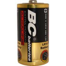 BC ALKÁLI AKKUMULÁTOR -TARTÓS BABY ELEM BC C/LR14 EXTRA POWER