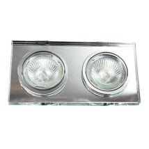 Spot fashion beépíthető halogén GU10 lámpa Rábalux 1178