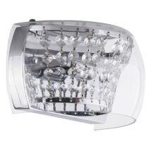 Samantha modern krisztály fali lámpatest Rábalux 2750