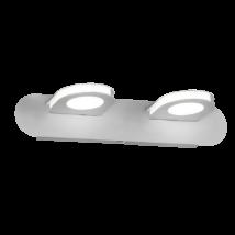 Breda LED 2x4,8W /384 Lm 4000K fürdőszobai lámpatest Rábalux 5742