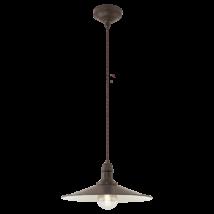 Eglo Stockbury vintage mennyezeti lámpatest 49456