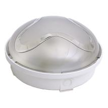 Vízmentes mennyezeti/fali kerek műanyag lámpa 60W E27 IP65