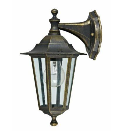 Dortmund bronz  kültéri lámpatest falikar lefelé álló E27 IP44 (ANCO)