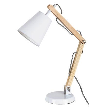 Thomas fa íróasztali E27 lámpatest Rábalux 4191