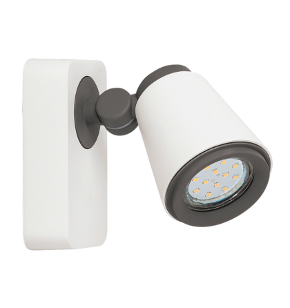 Cario LED 1XGu10 4,5W /400 Lm 3000K  spot lámpatest Rábalux 6477