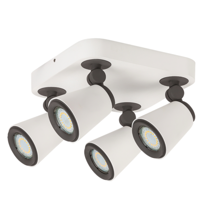 Cario LED 4XGu10 4,5W /400 Lm 3000K  spot lámpatest Rábalux 6480