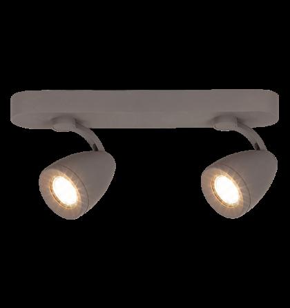 Nancy LED 4,5W 400 Lm 3000K 2XGu10 spot lámpatest Rábalux 6742