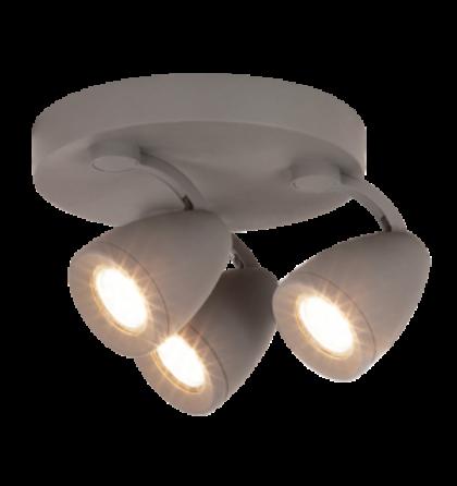 Nancy LED 4,5W 400 Lm 3000K 2XGu10 spot lámpatest Rábalux 6743