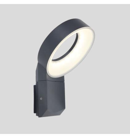 LUTEC MERIDIAN 14W LED fali lámpa 6163S-3K gr