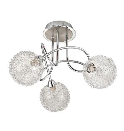 Cosmo fashion mennyezeti lámpa 3 kar króm Rábalux 2889