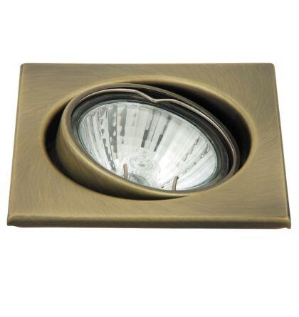 Spot light beépíthető spot lámpa 3-as szett billenthető négyzet Rábalux 1135