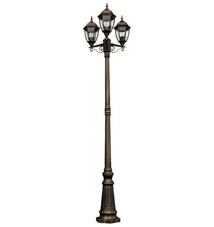 Toronto kültéri három ágú álló lámpa Rábalux 8460 + ajándék 3 db izzó