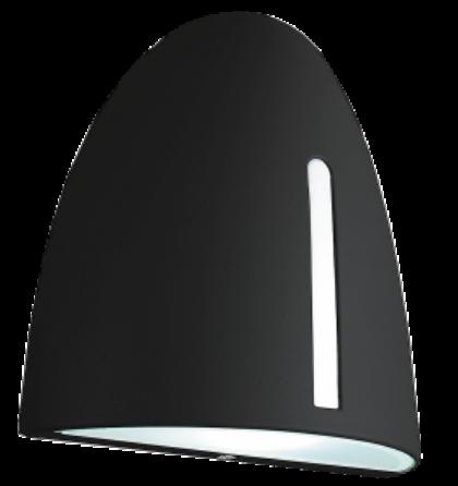 Glasgow Kültéri fekete fali lámpa 7W Rábalux 8519