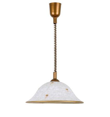 Art flower függeszték konyhai mennyezeti lámpa D40cm arany rolly Rábalux 1956