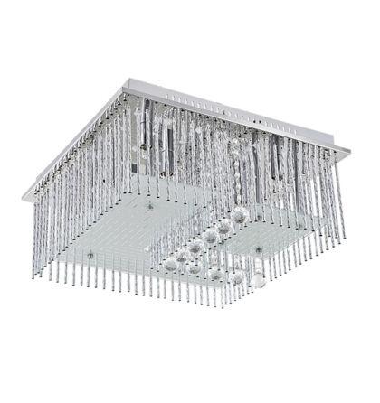 Billings beépített G9 33W + 42db fehér és 9db kék LED  mennyezeti lámpa  távirányítóval Rábalux 2439