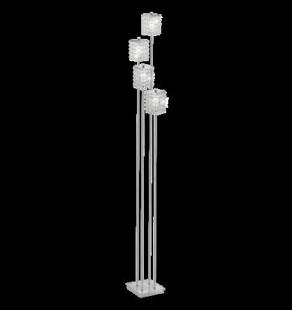 Eglo állólámpa G9 4*33W 155cm króm/ólomkristály Pyton 85335