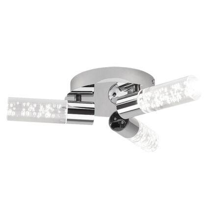 Aphrodite beépített 3 LED/5W  modern Led mennyezeti  fürdőszobai lámpatest Rábalux 5799