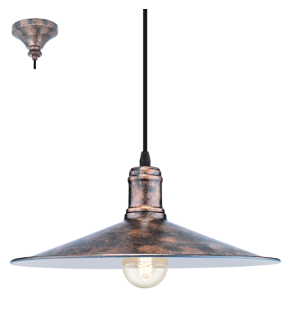 Eglo Bridport vintage lámpaptest 49454