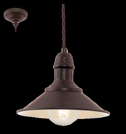 Eglo Stockbury vintage mennyezeti lámpatest 49455