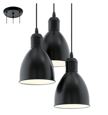 Eglo Priddy mennyezeti vintage lámpatest  49465