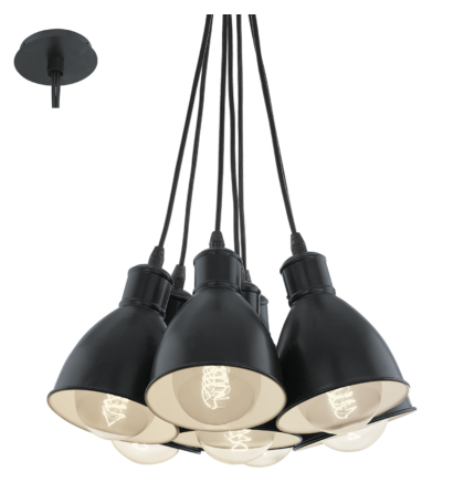 Eglo Priddy mennyezeti vintage  lámpatest 49467