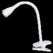 Jeff LED 4,5W 330Lm csiptethető lámpatest fehér Rábalux 4196