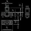 OBO Vezeték összekötő 3x2,5mm2 karos, átlátszó 0,2-2,5mm2 2054454