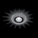 LED 3W Természetes fehér kristály modern beépíthető halogén spot lámpatest Elmark