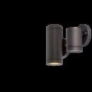 Kültéri GU10 oldalfali lámpatest antik bronz IP65 GRF76-1 Elmark