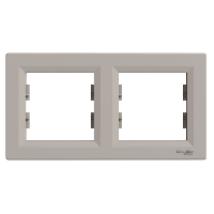 ASFORA keret 2-es bronz vízszintes IP20 EPH5800269