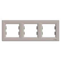 Asfora keret 3-as bronz vízszintes IP20 EPH5800369