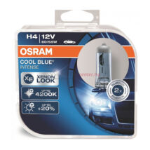 Osram Cool Blue Intense autó izzó 64193CBI H4 60/55W 2db/csomag