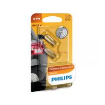 Philips Original Vision +30% autó izzó 12256B2 W3W 12V 2db/bliszter