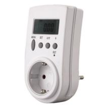 Fogyasztásmérő digitális, köztes csatlakozóaljzat formában 0785H Düwi