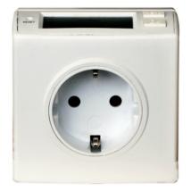 Fogyasztásmérő digitális, köztes csatlakozóaljzat formában 0786H Düwi