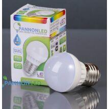 LED lámpa izzó gömb E27 3W  250Lm 230° DW Természetes fehér (3W PL3034)