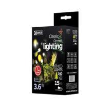 Emos karácsonyi fényfüzér időzítővel 100 LED 10m hideg fehér ZY0807T