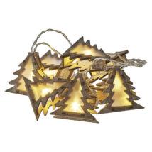 Emos karácsonyi fényfüzér időzítővel 3D fenyő 10LED meleg fehér 1,35 m ZY2066