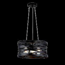 Elmark HELIX mennyezeti modern lámpatest 3XE27 955HELIX3/BK