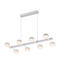 AZZAR LUXUS mennyezeti LED lámpatest 72W/ 5400lm/ 3000K meleg fehér 955AZZAR72
